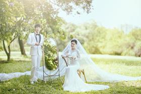 森系婚纱照——爱若清泉