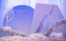 Darling高端定制婚礼-轻盈的雪