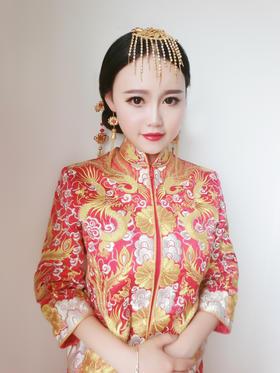 【李群婚纱造型馆】中式复古新娘造型