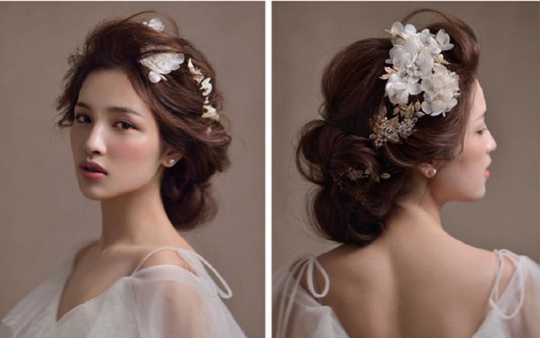欧式甜美新娘造型