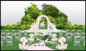 谜图创意婚礼设计 手绘作品NO.1
