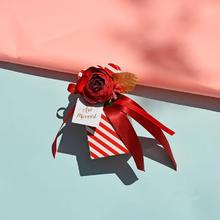 【手作】花瓶形 纯手工牛轧糖伴手礼  婚礼糖果