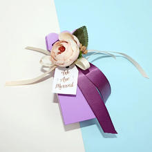 【手作】紫色 纯手工牛轧糖伴手礼  婚礼喜糖