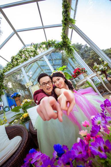 吴先生&罗小姐唯美婚纱客照欣赏