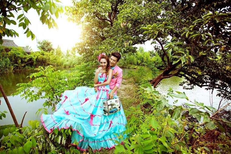 「韩国本土」纪实风·小清新外景婚纱照系列