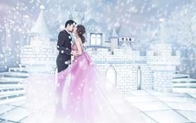 LANCOME--梦幻雪景婚纱照