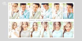 「韩国本土」纪实风·街拍婚纱照系列