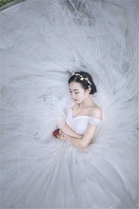 【台湾布蕾丝婚纱】梦幻婚纱