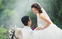 马场——森系风婚纱照