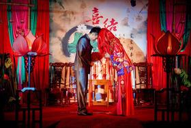 凤冠霞帔 新中式婚礼布置
