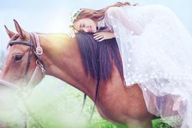 皇家丽人摄影—紫海