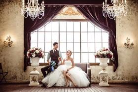 韩式唯爱主题婚纱照
