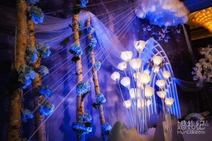 星空主题婚礼,婚礼策划公司