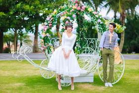 【韩式婚纱照】我的秘密花园