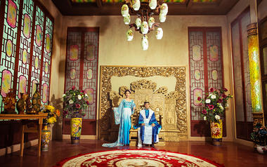 中式系列婚纱照