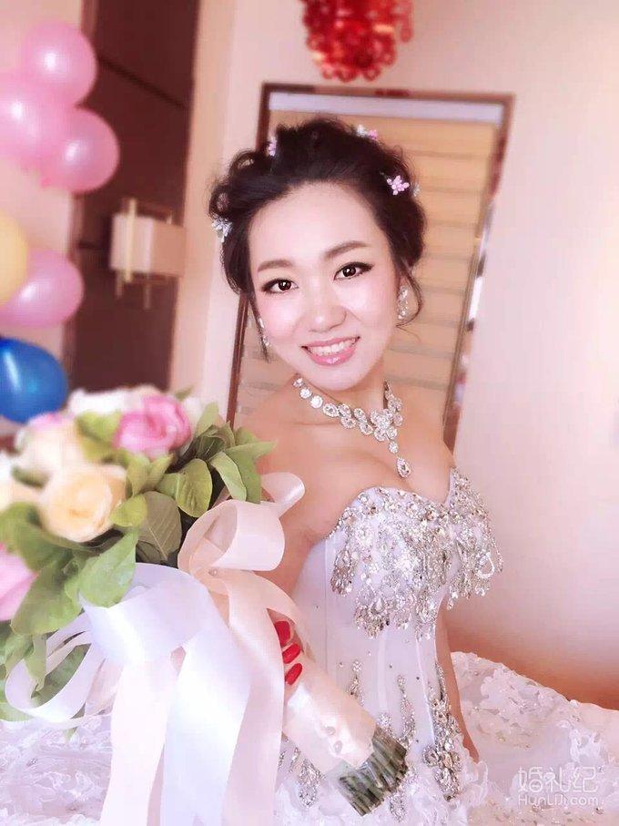 清新温婉韩式新娘妆