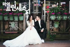 克洛伊【济州岛站】韩式客片分享: 王兆琦&闫军雁