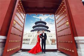 天坛婚纱照---客片欣赏