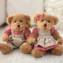 小熊情侣压床娃娃