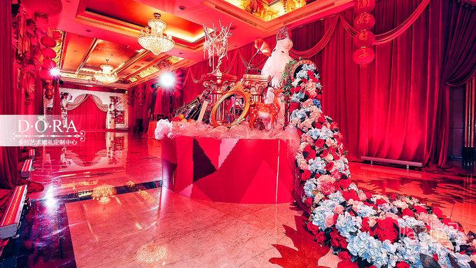 dora-《年华》红色中西式婚礼