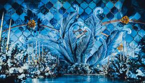 《绽放》——蓝色系个性婚礼