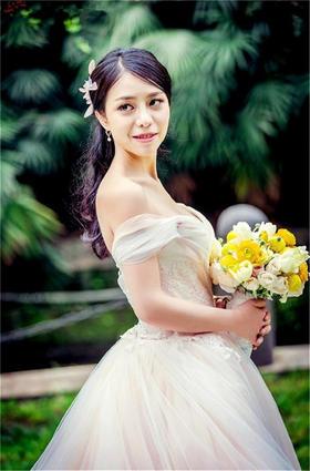 【台湾布蕾丝婚纱】回眸一笑