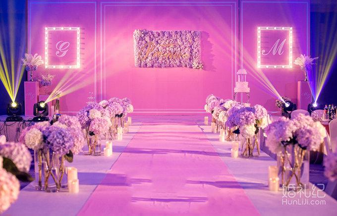 粉色婚礼,婚礼策划公司