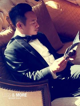 著名导演张颂文同款男士礼服