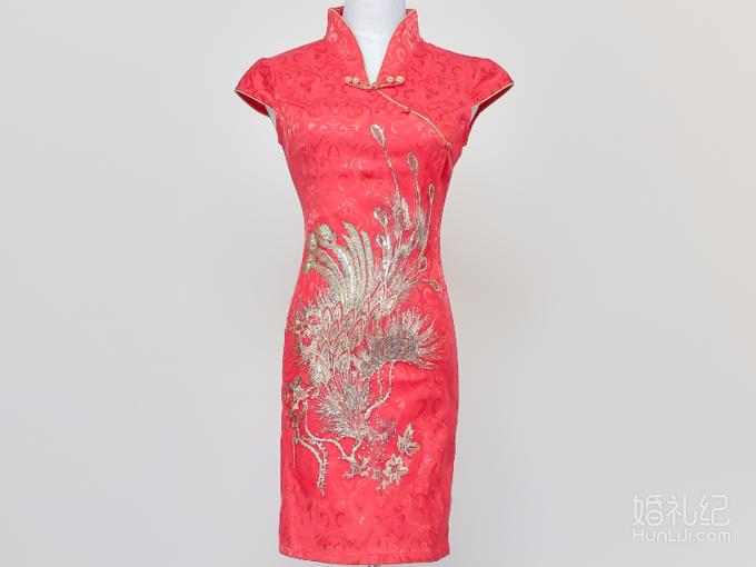 萝纱礼服|中式精致旗袍专场