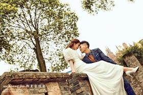 御皇家婚纱摄影--公园邂逅