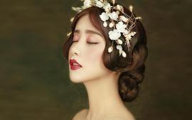 《况利彩妆造型》总监级别化妆师新娘跟妆