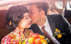【林恩造型】十佳级新娘跟妆--中式古典红妆系列
