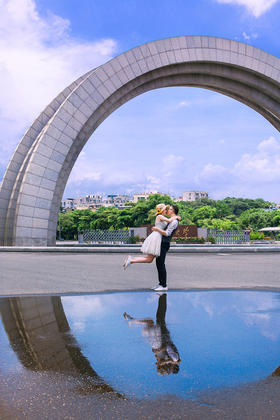 MR霍&MISS张—厦门大城小爱婚纱摄影(客片)