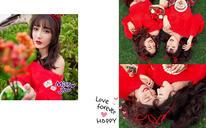 【西安台北新娘婚纱摄影——闺蜜照系列】