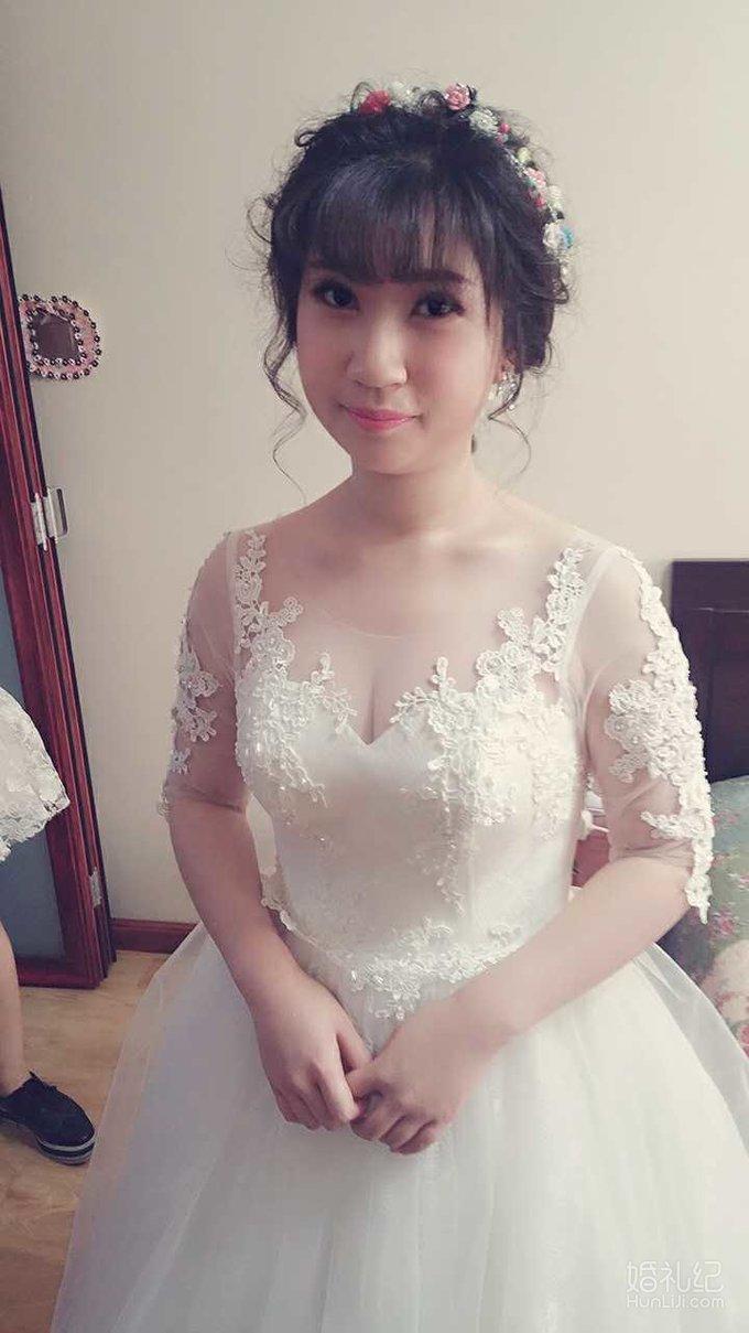 减龄日系新娘造型图片
