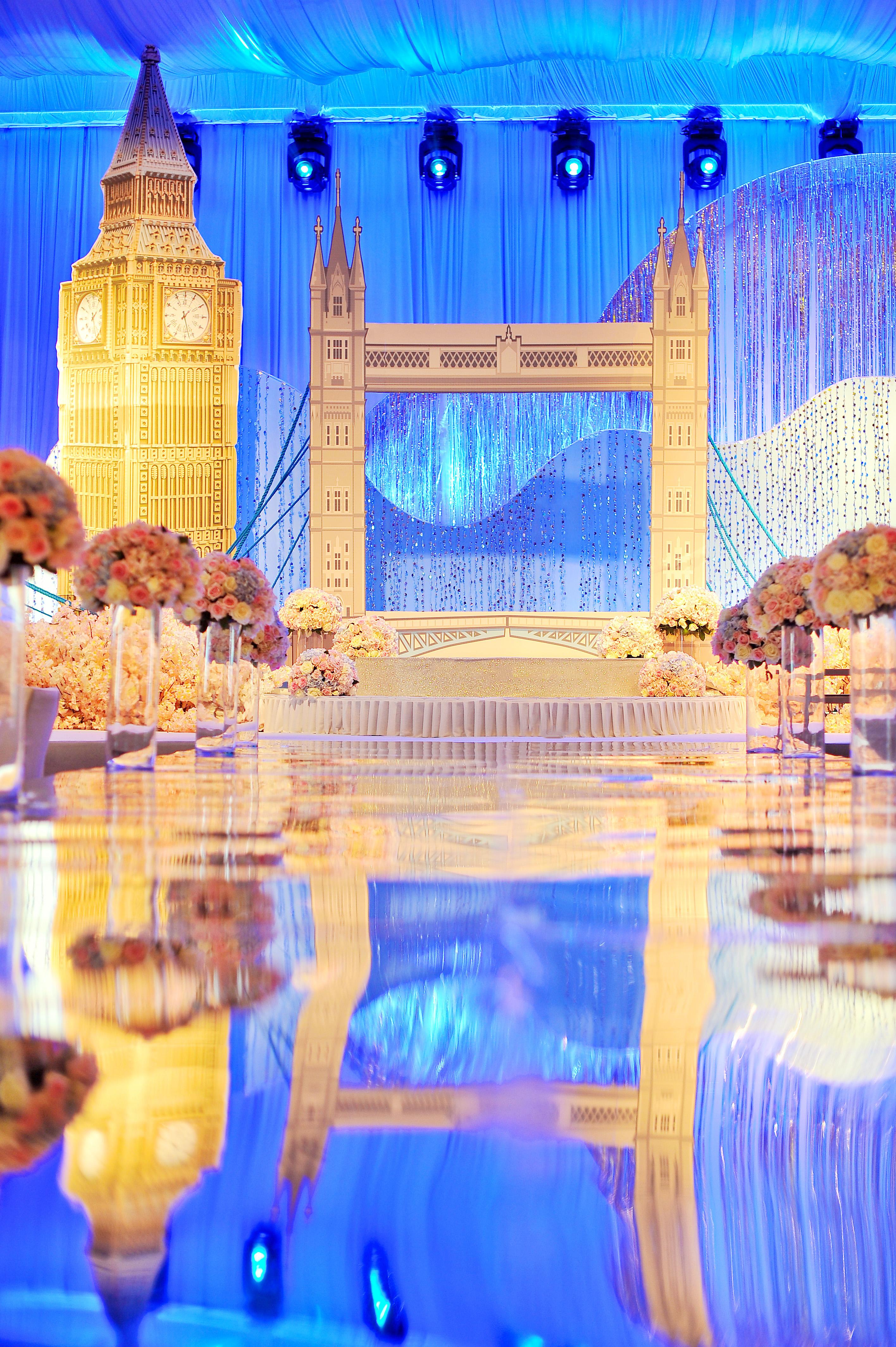 欧式婚礼布置图片