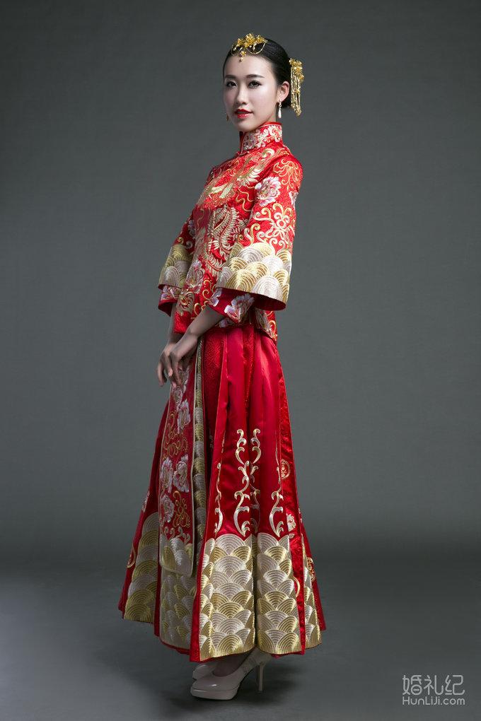 兰墨中式新娘秀禾服图片