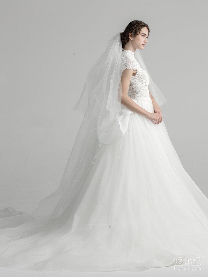 New Vintage水溶蕾丝质感婚纱