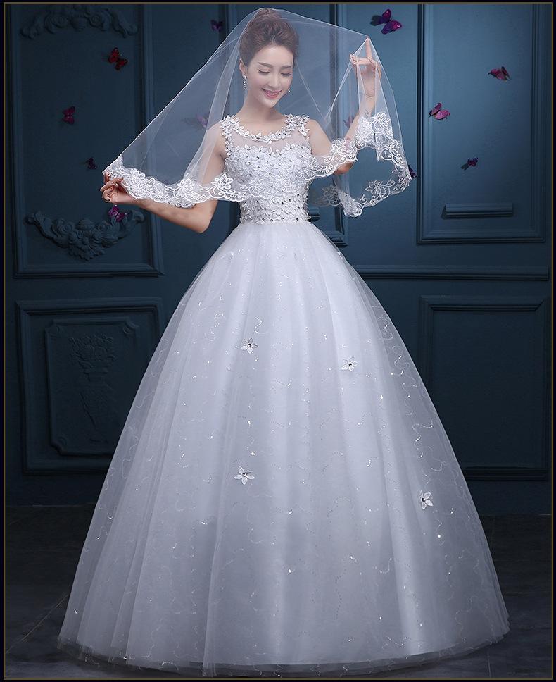 新娘婚纱礼服