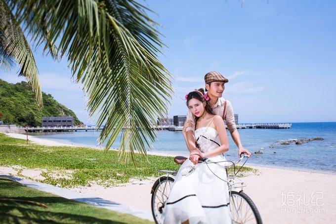 三亚婚纱摄影样片-半山半岛洲际酒店c组