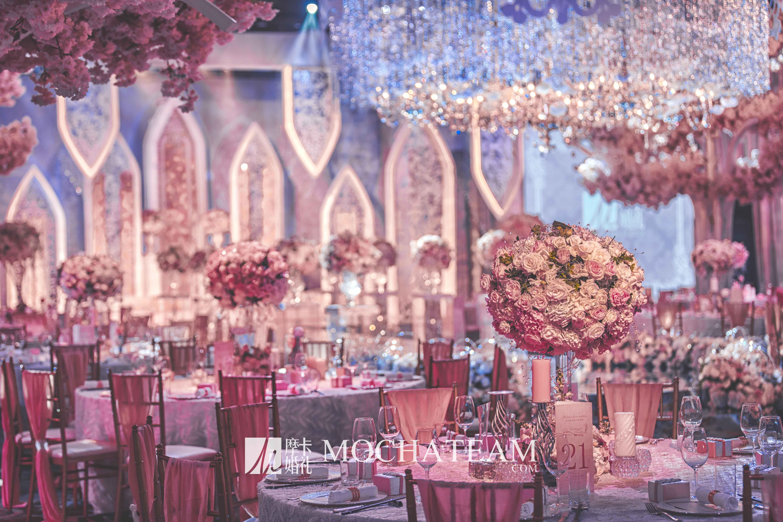 森系婚礼布置图片