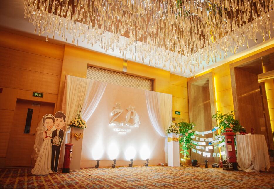 韩式婚礼布置图片