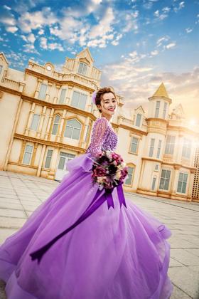 在北京拍欧式城堡+花样婚纱照!城堡 游轮 热气球
