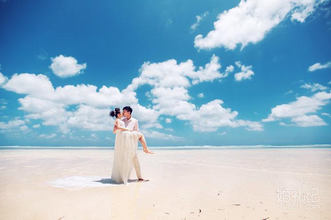 海景婚纱照旅拍必备-北京三亚异地联拍9998特惠