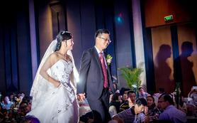 灵感光影资深摄影师双机位婚礼跟拍