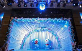 【哆啦A梦】卡通主题婚礼定制 含资深四大人员