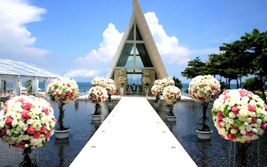 巴厘岛-conrad港丽无限教堂婚礼