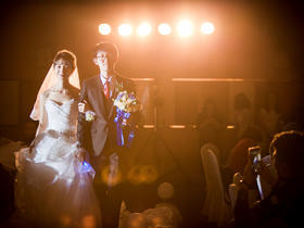 婚庆婚礼现场跟拍结婚照片
