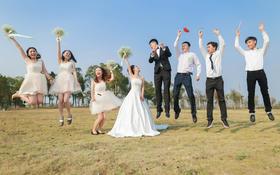 清新鲜花主题婚礼+风之颂