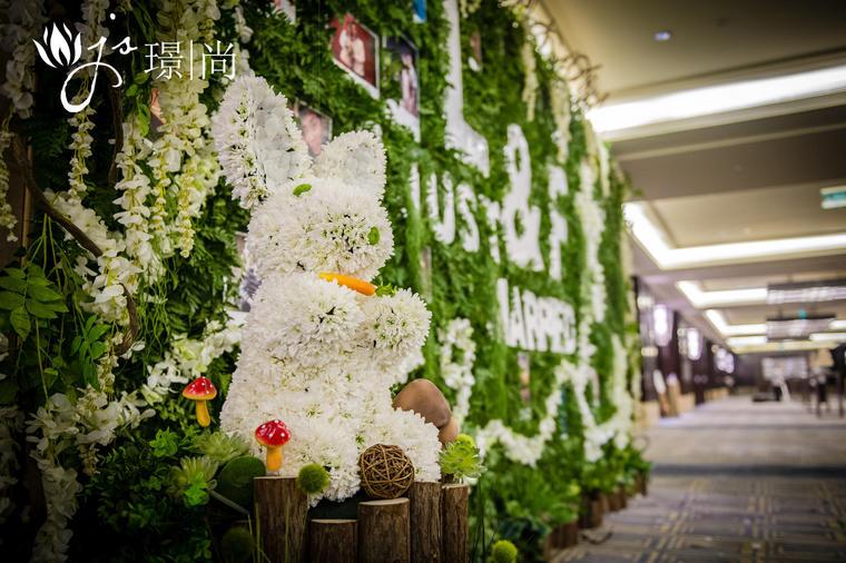 【婚礼鲜花布置】直到遇见你
